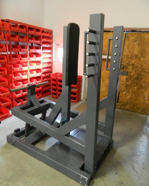 sitting bench press machine