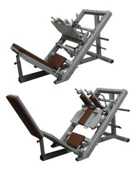 Hack-Squat-Leg-Press-Machine