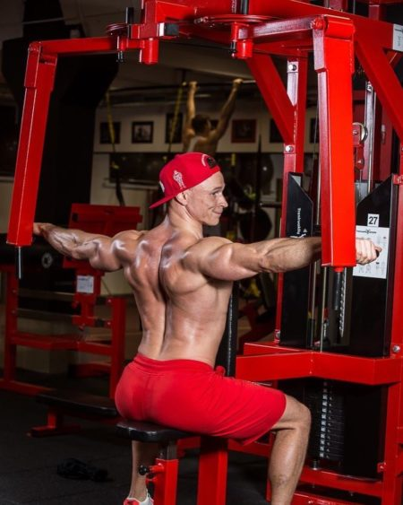 Pec-Fly-Rear-Delt-Machine