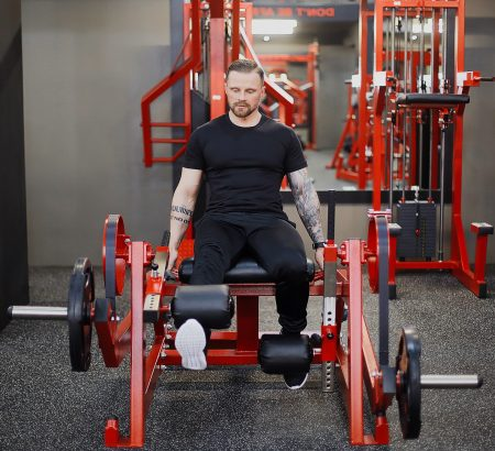 Leg-Extension-Machine-Plate-Loaded