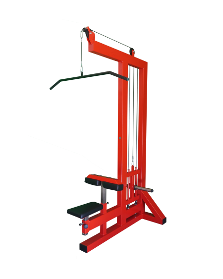 Plate-Loaded-Lat-Pulldown-Machine