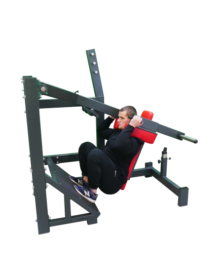 Pendulum-Squat-Machine