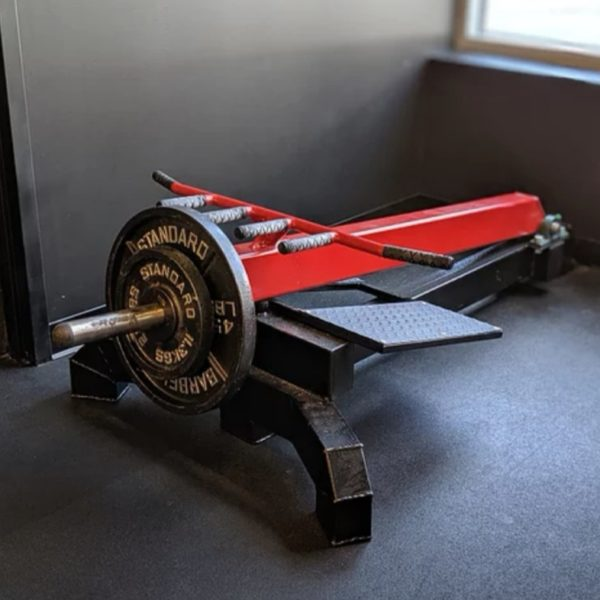 T-Bar Row Machine Plate Loaded