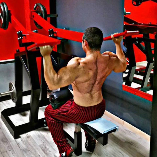 Lateral Front Lat Pulldown Machine