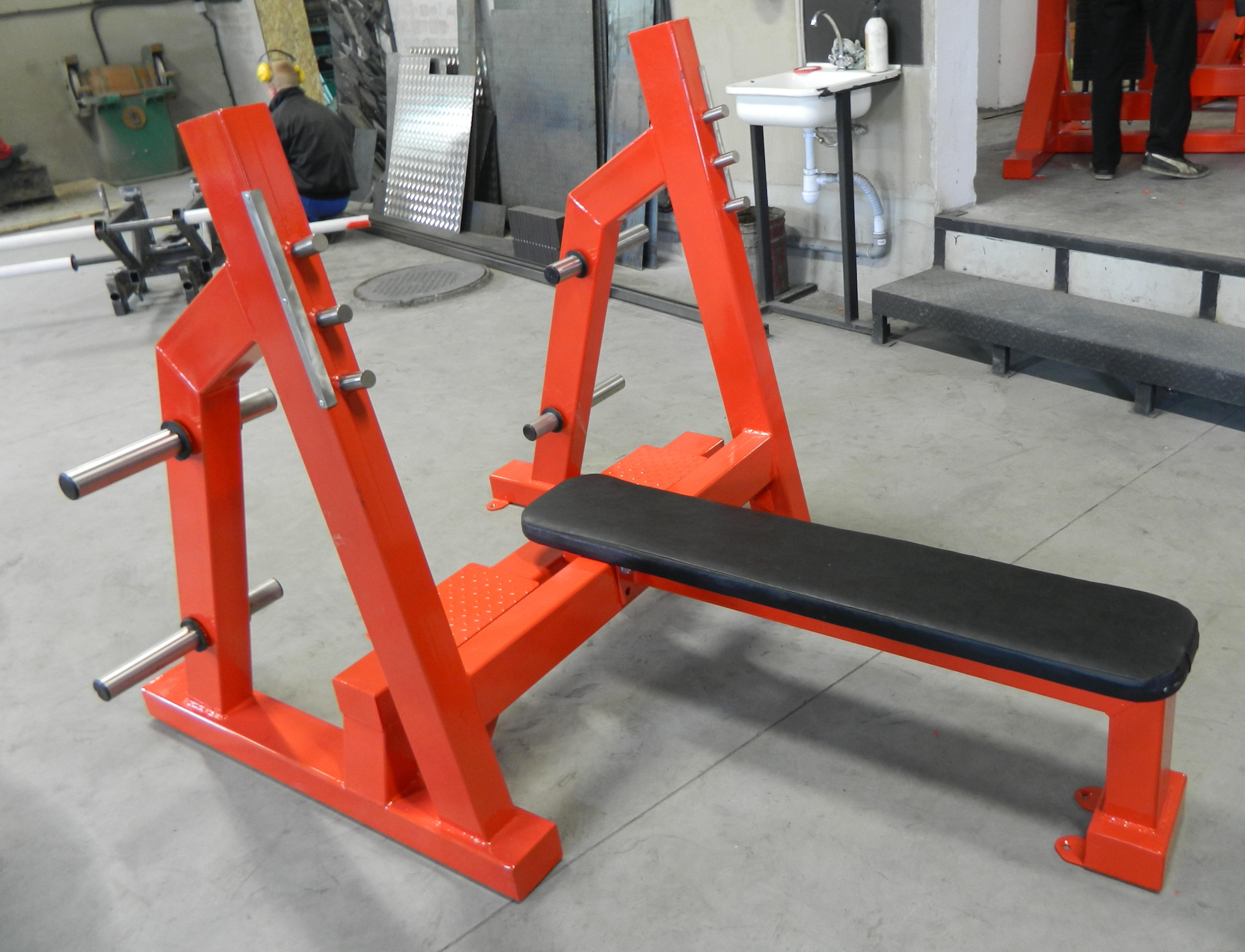 Olympic Flat Press Bench Professional Gym Equipment