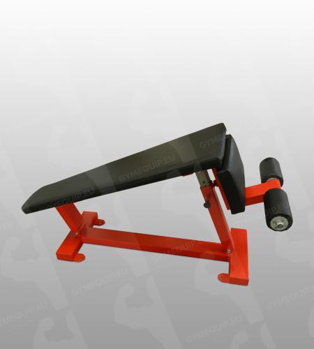 Adjustable Crunch Bench