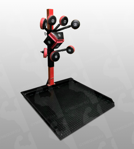 Boxing Tower Training Station With Base