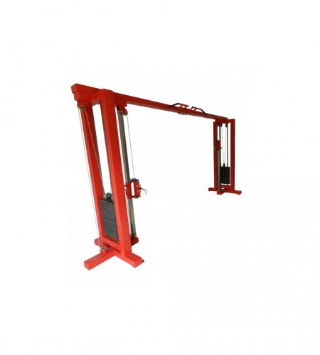 lat cable machine