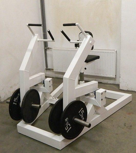 lever row machine