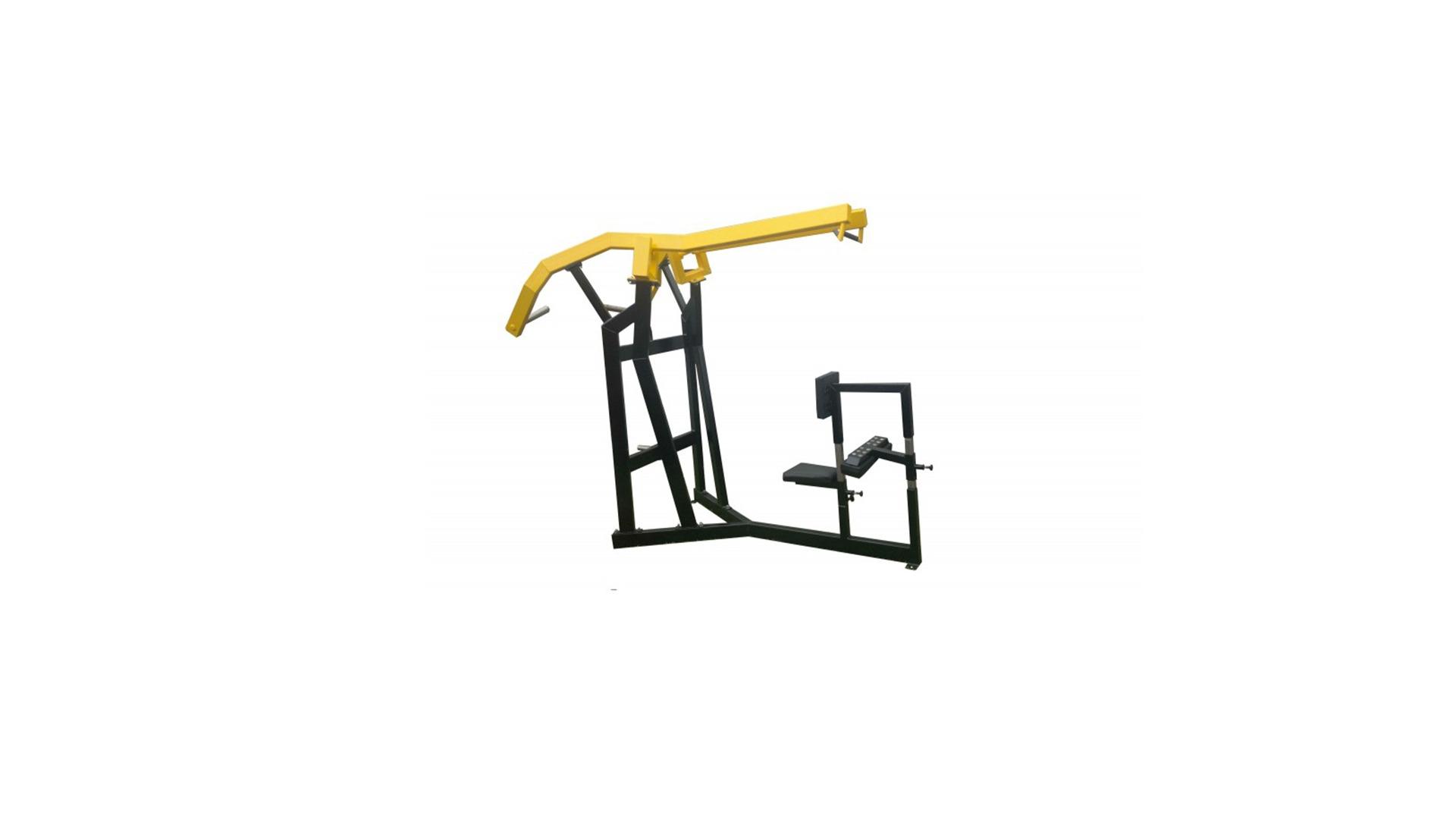 lever machine pulldown