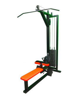 Lat-Pulldown-Seated-Row-Machine