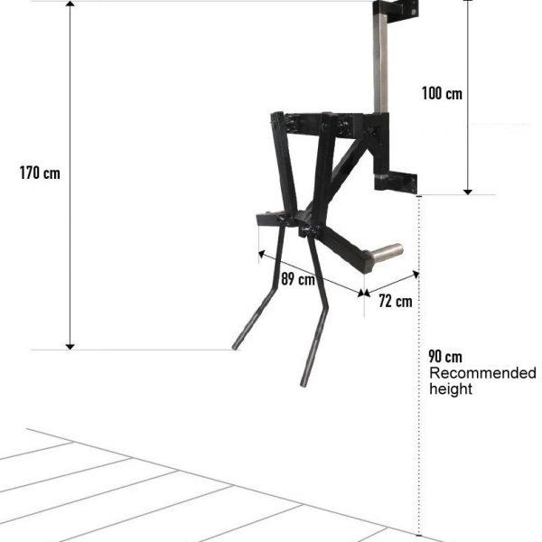 shoulder raise machine