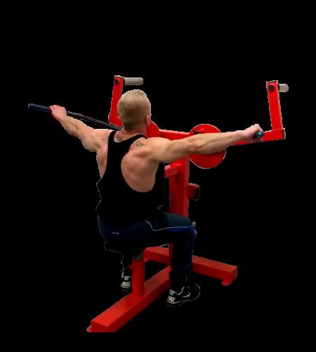 Lateral-Shoulder-Raise-Machine
