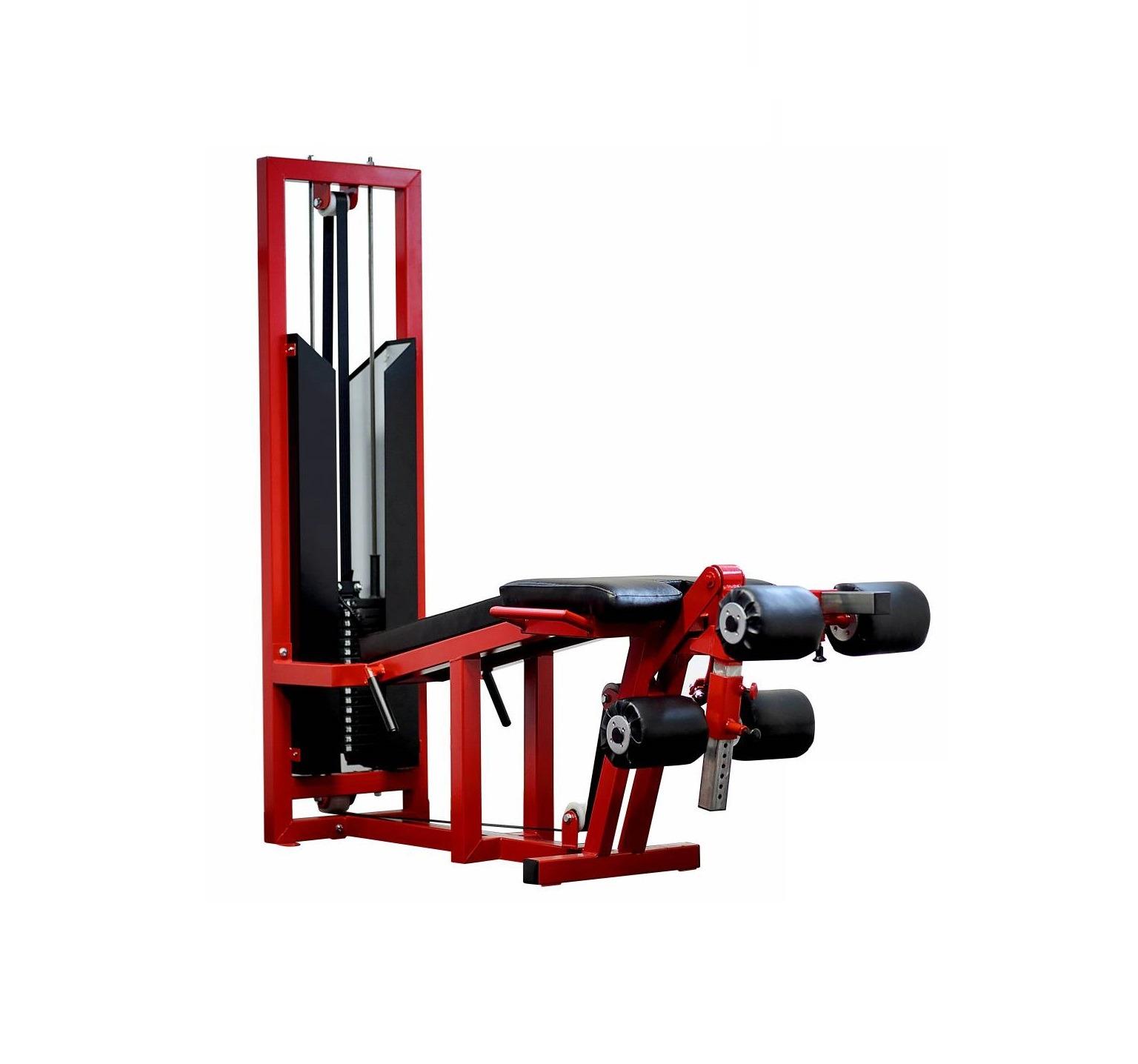 leg extension curl machine