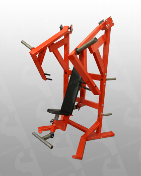 Sitting Chest Press Machine Plate Loaded