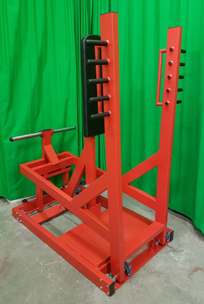 Standing Chest Press Machine Plate Loaded
