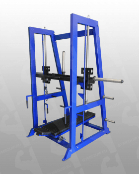Vertical Leg Press Machine